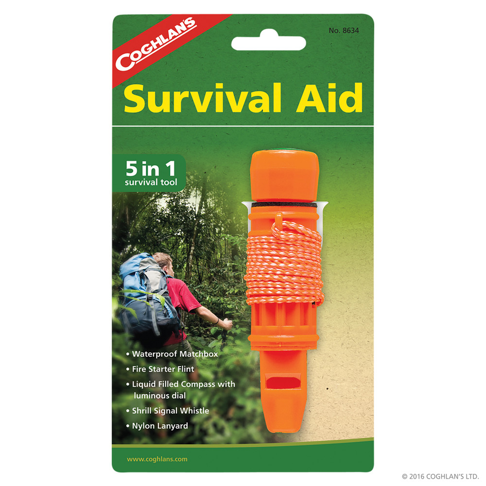 Coghlans Survival Aid, 5-in-1
