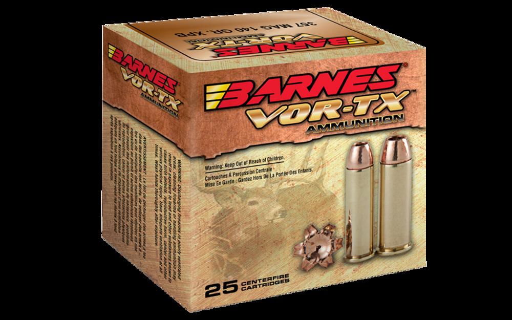 Barnes VOR-TX, 44 Rem Mag, 225 Gr XPB HP