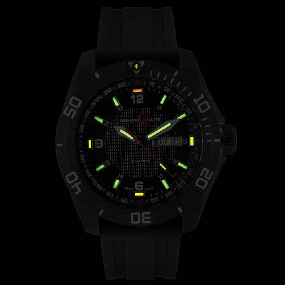 ArmourLite Navigator - Swiss-Made T25 tritium markers for the dark