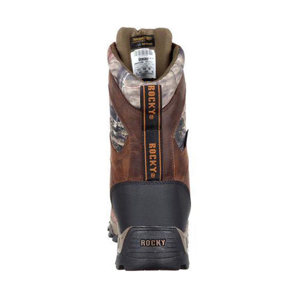 Rocky Sport Pro 1000G Insulated Waterproof Outdoor Boot - Back View