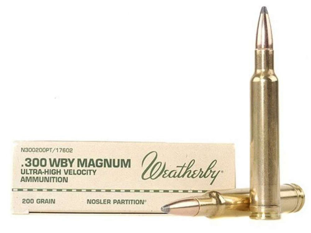 Weatherby Ammo, 300 Wby Mag, 200 Gr, NP
