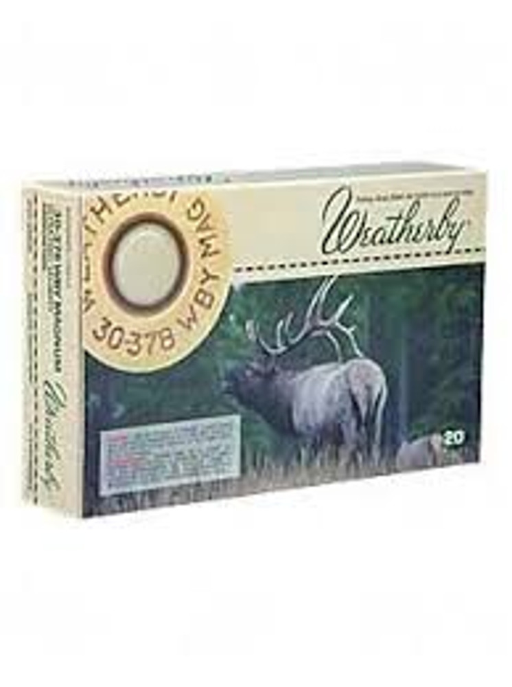 Weatherby Ammo, 30-378 Wby Mag, 180 Gr Accubond