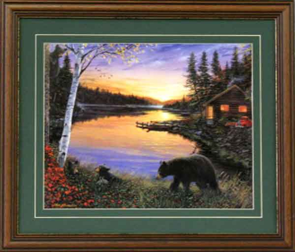 Bears & Cabin Picture