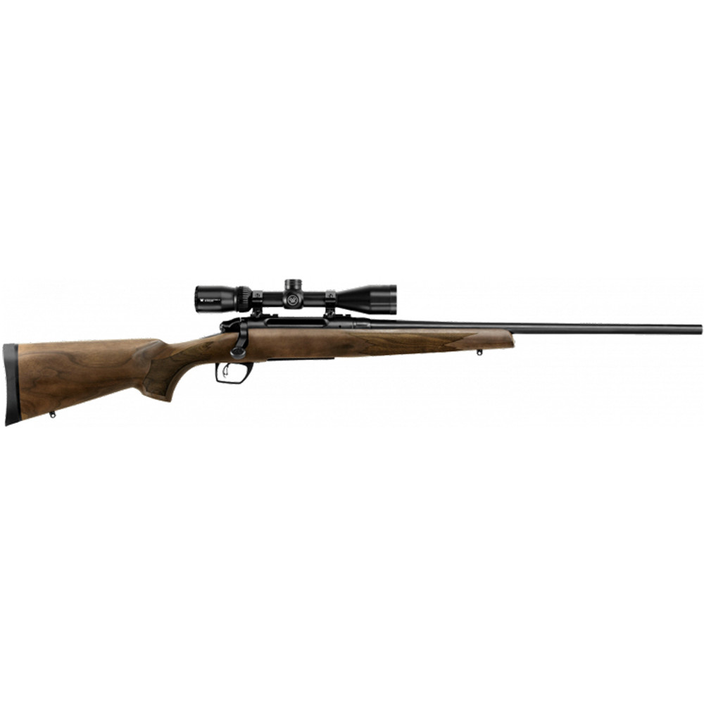 Remington Model 783 with scope in walnut wood stock