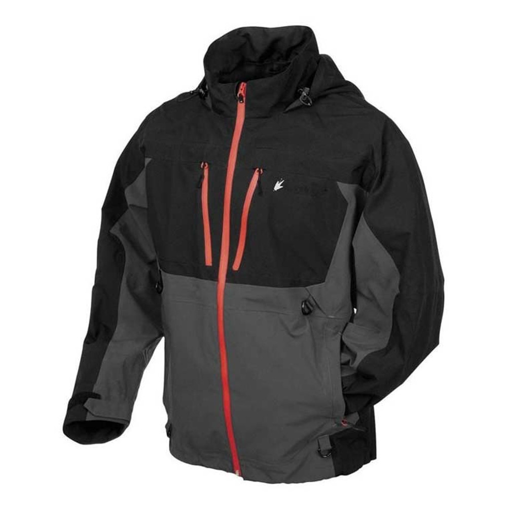 Frogg Toggs Pilot Jacket, Black/Grey