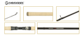 "Shimano Convergence, Salmon/Steelhead, 2 pc, 10'6"", Medium-Heavy"