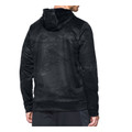 UA Icon Camo Hoodie - Black Tonal Reaper - Back View