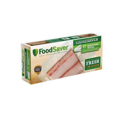 "FoodSaver Heat-Seal Rolls, 11"", 2 pk"
