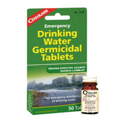 Coghlans Emergency Drinking Water Tablets
