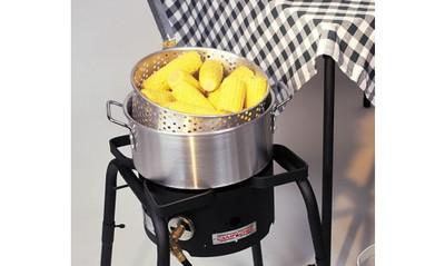 Camp Chef 10.5 Qt Aluminum Pot w/Basket