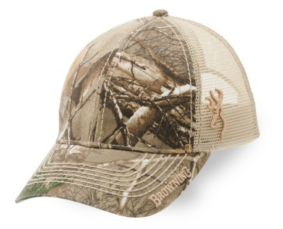 Browning Cap, Co Branded RTX, Tan Mesh