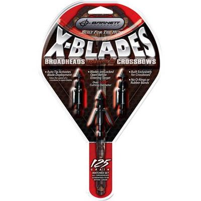 Barnett X-Blades, 125 Gr