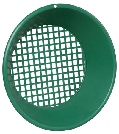 "Garrett 14"" Sifter/Classifier, Green"