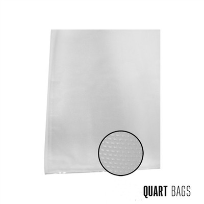 "Weston Vacuum Bags, 8"" x 12"", 100 pk"