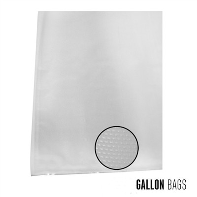 "Weston Vacuum Bags, 11"" x 16"", 100 pk"