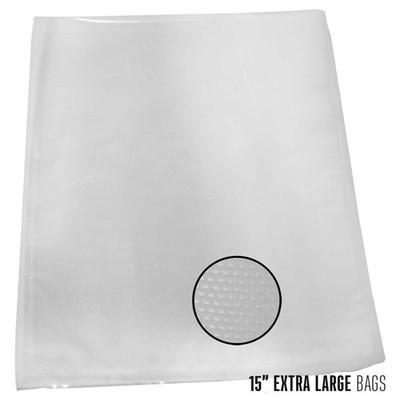 "Weston Vacuum Bags, 15"" x 18"", 100 pk"