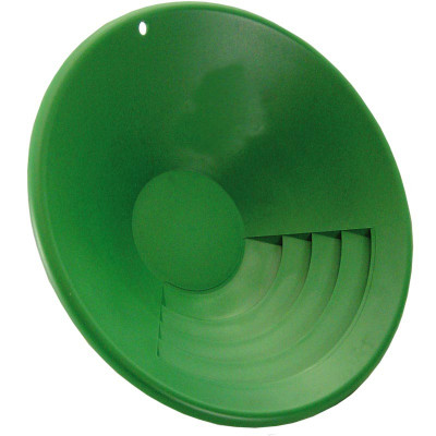 "Garett 10"" Gold Pan, Green"