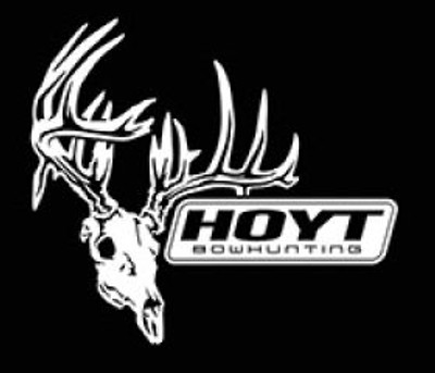 "Hoyt Skull Bowhunting Decal, 9.25"" x 8.25"""
