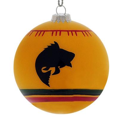 Christmas Ornament, Yellow Bass Blanket