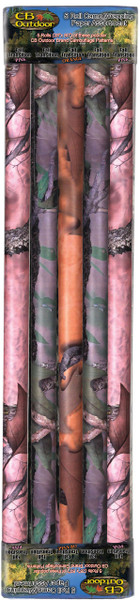 Rivers Edge Camo Wrapping Paper, Assorted, 5 pk