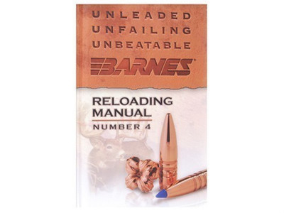 Barnes Reloading Manual, Number 4