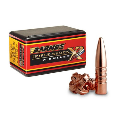 Barnes Triple Shock X Boat Tail, 50 ct