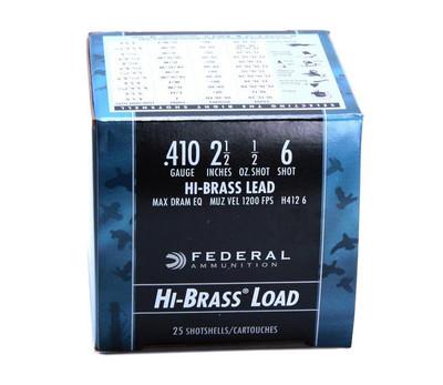"Federal Game-Shok Upland Hi-Brass, .410 Ga, 2.5"""