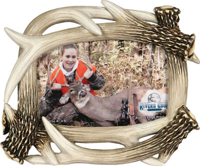 Rivers Edge Deer Antler Picture Frame