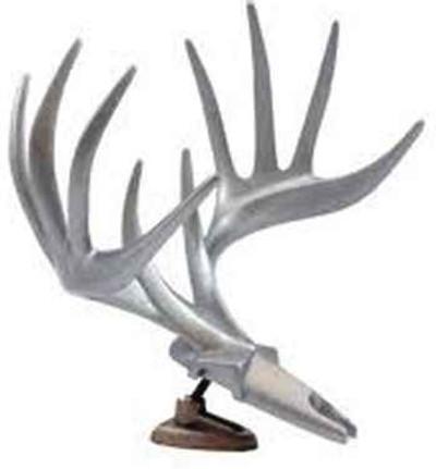 Big Rack Dash Raxx Figurine, Tribal Whitetail