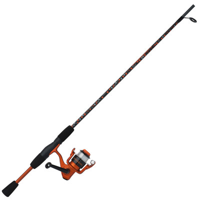 "Shakespeare Amphibian Spin Combo, 5'6"", Med, Orange"