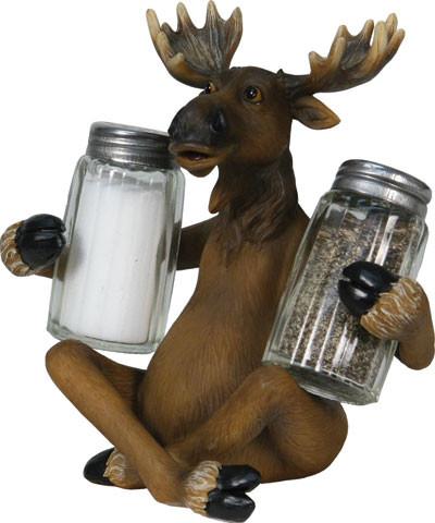 Rivers Edge Salt & Pepper Set, Moose