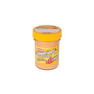 PowerBait Natural Scent Trout Bait, 50 g In Salmon Peach