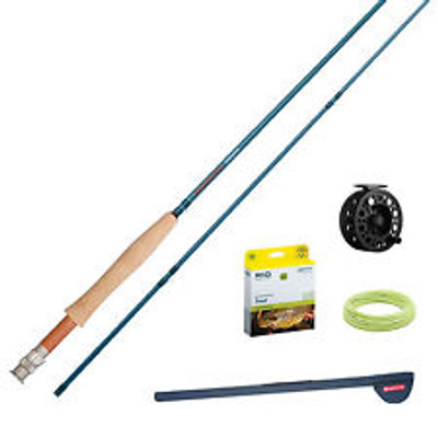 Redington Crosswater Fly Fishing Outfit, 9',  6wt, 2 pc