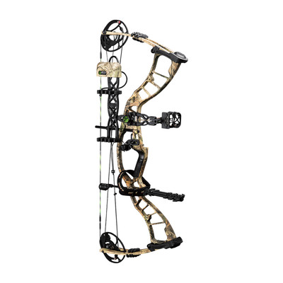 Hoyt PowerMax Package, XTRA CW, RH, 65#, 5-Pin Sight