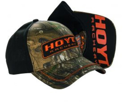 Hoyt Cap, Camo/ Orange Livewire