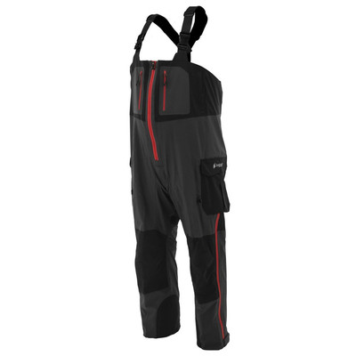 Frogg Toggs Pilot Guide Bib In Black/Grey