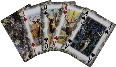 Rivers Edge Whitetail Deer/ Camo Playing Cards