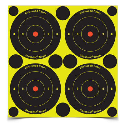 "Birchwood Casey Shoot-N-C 3"" Bullseye, 48 pk"