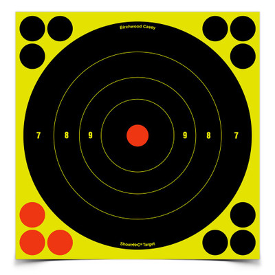 "Birchwood Casey Shoot-N-C 8"" Bullseye, 30 pk"