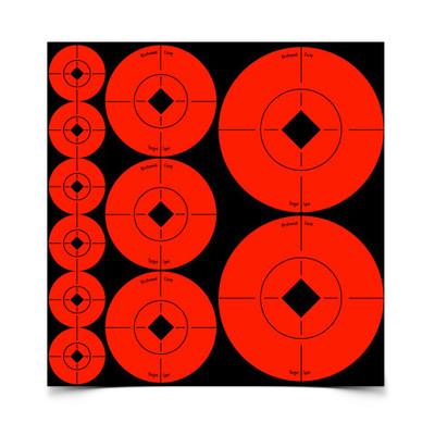 Birchwood Casey Target Spots, Asst, 110 pk
