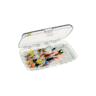 Plano Fly Box Clear w/Foam, Medium