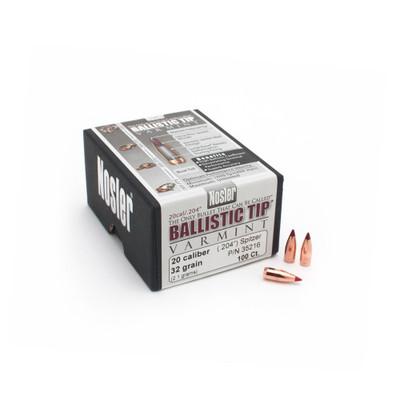 Nosler Ballistic Tip Varmint, 100 ct