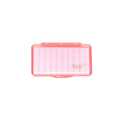 TFO Clear Slit Foam Fly Box, Medium