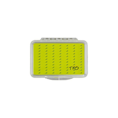 TFO Silicone Slit Foam Fly Box, Medium