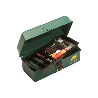 Plano One Tray Tackle Box, Green