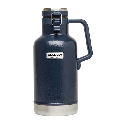 Blue Stanley Classic SS Vacuum Half Growler, 32 oz
