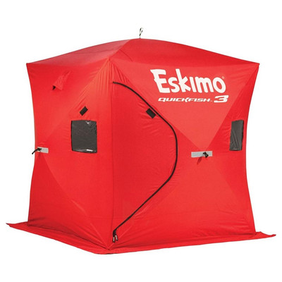 Eskimo QuickFish 3 Pop-up Ice Hut