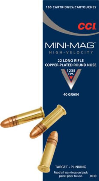 CCI Mini-Mag, 22 LR, 40 Gr, 100 ct