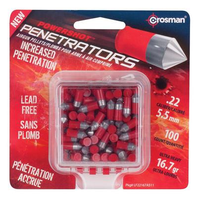 Crosman Powershot .22 Penetrator Pellets, 100 pk