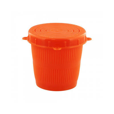 SCOTTY 1/2 L BAIT JAR, RED